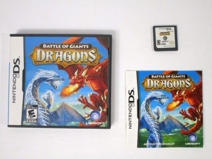 Battle of Giants: Dragons game for Nintendo DS -Complete