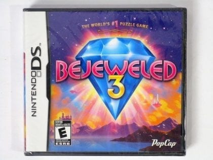 Bejeweled 3 game for Nintendo DS - New
