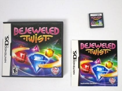 Bejeweled Twist game for Nintendo DS -Complete