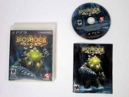 BioShock 2 game for Sony Playstation 3 PS3 -Complete