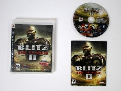Blitz The League II game for Sony Playstation 3 PS3 -Complete
