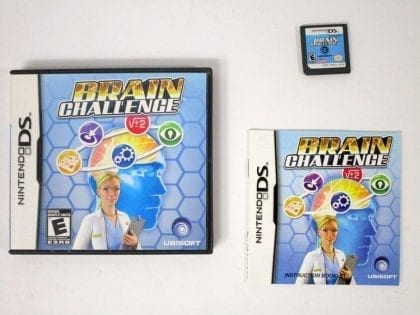 Brain Challenge game for Nintendo DS -Complete