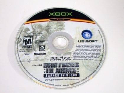 Brothers in Arms Earned in Blood game for Microsoft Xbox - Loose