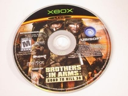 Brothers in Arms Road to Hill 30 game for Microsoft Xbox - Loose