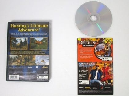 Cabela's Big Game Hunter 2005 Adventures game for Playstation 2 (Complete) | The Game Guy