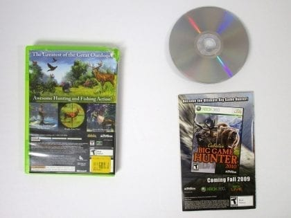 Cabela's Outdoor Adventures 2010 game for Xbox 360 (Complete) | The Game Guy