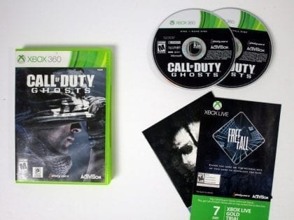 Call of Duty: Ghosts game for Microsoft Xbox 360 -Complete