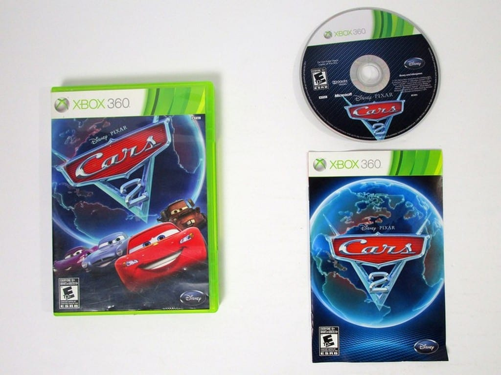 Cars Xbox 360: Cars 2 Game For Xbox 360 (Complete)