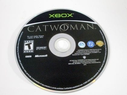 Catwoman game for Microsoft Xbox - Loose