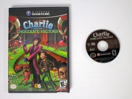 Charlie and the Chocolate Factory game for Nintendo Gamecube -Game & Case