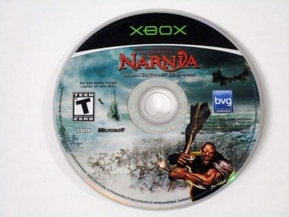 Chronicles of Narnia Lion Witch and the Wardrobe game for Xbox - Loose