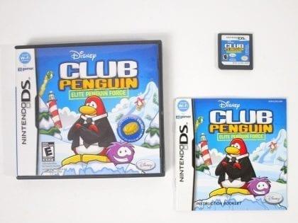 Club Penguin: Elite Penguin Force game for Nintendo DS -Complete