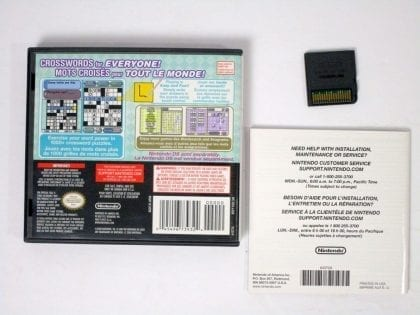 Crosswords DS game for Nintendo DS (Complete) | The Game Guy