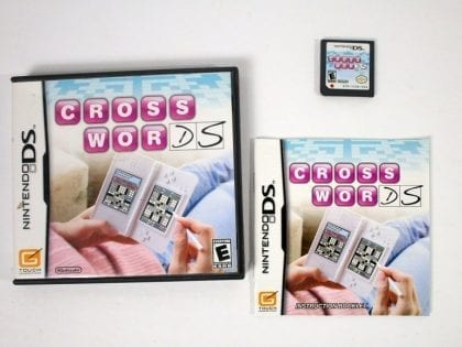 Crosswords DS game for Nintendo DS -Complete