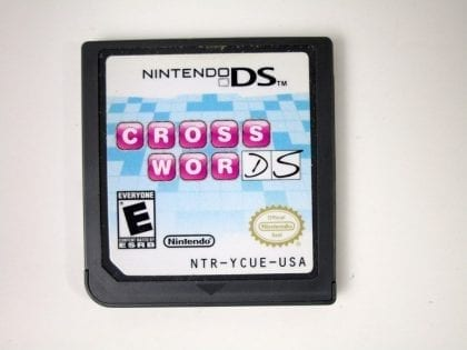 Crosswords DS game for Nintendo DS - Loose
