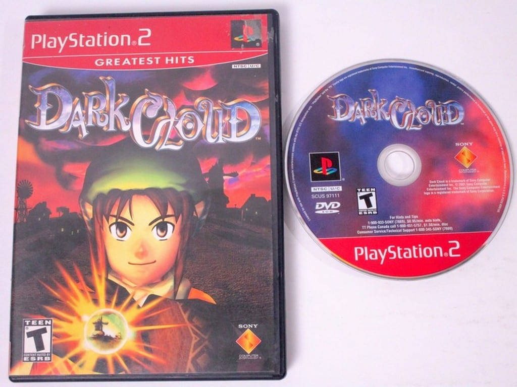 Dark Cloud Game For Playstation 2