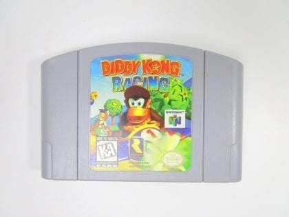Diddy Kong Racing game for Nintendo 64 N64 - Loose