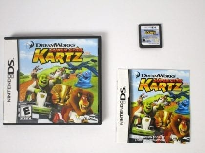 Dreamworks Super Star Kartz game for Nintendo 3DS -Complete