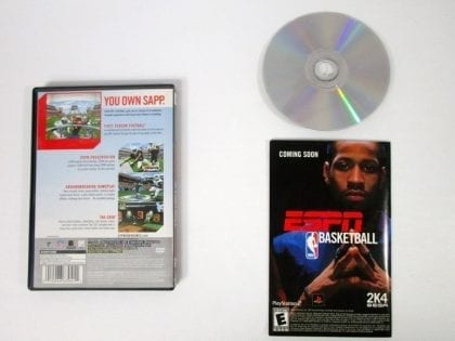ESPN Football 2004 game for Playstation 2 (Complete) | The Game Guy
