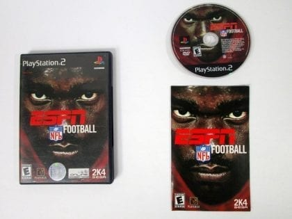 ESPN Football 2004 game for Sony Playstation 2 PS2 -Complete