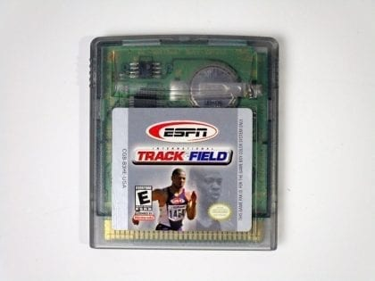 ESPN International Track and Field game for Nintendo GameBoy Color - Loose