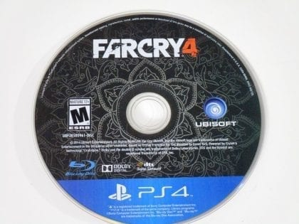 Far Cry 4 game for Sony Playstation 4 PS4 - Loose