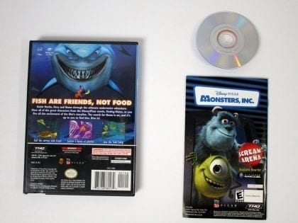 Finding Nemo game for Gamecube (Complete) | The Game Guy