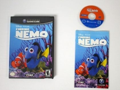 Finding Nemo game for Nintendo Gamecube -Complete