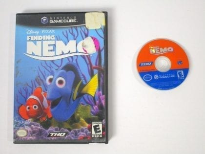 Finding Nemo game for Nintendo Gamecube -Game & Case