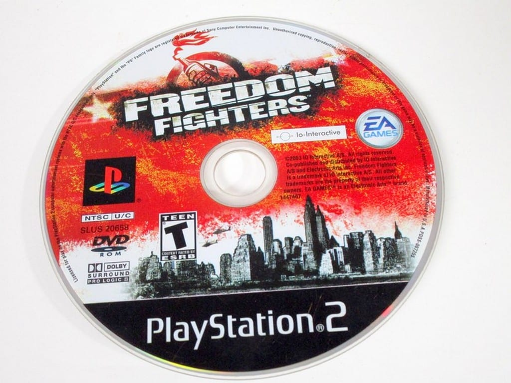 Freedom Fighters Game For Playstation 2 Loose The Game Guy