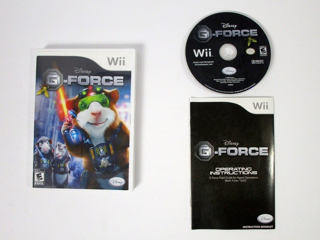 G-Force game for Nintendo Wii -Complete
