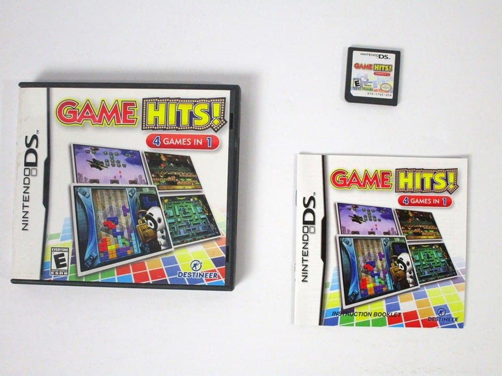 Game Hits! game for Nintendo DS -Complete