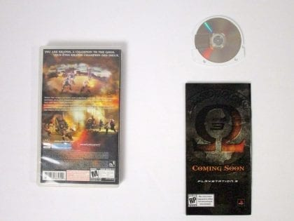 God of War Chains of Olympus game for PSP (Complete) | The Game Guy