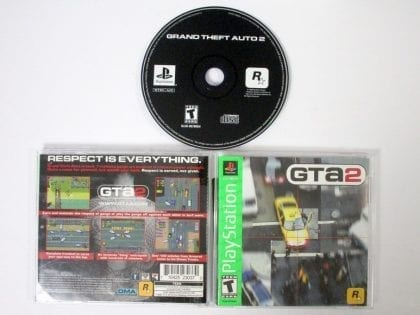 Grand Theft Auto 2 game for Sony Playstation PS1 PSX -Complete