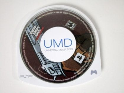 Grand Theft Auto Liberty City Stories game for Sony PSP - Loose