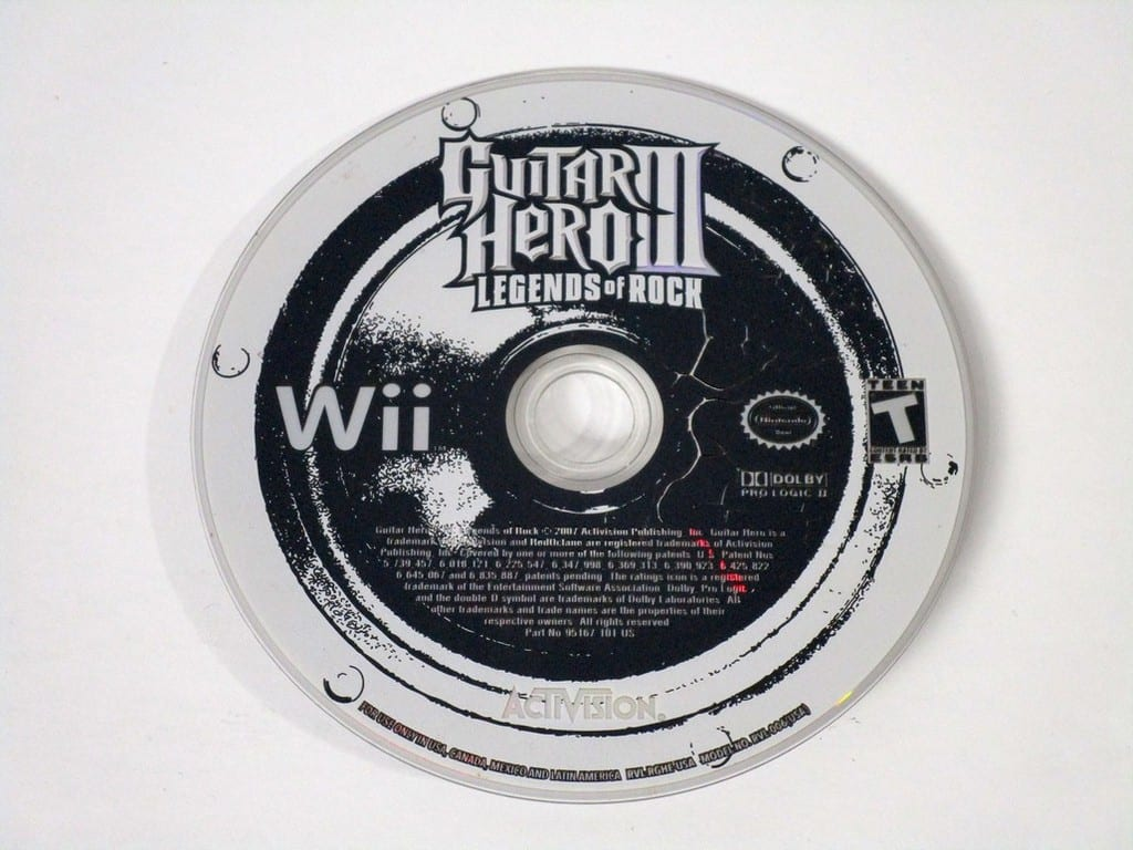 how to connect a guitar hero guitar to wii