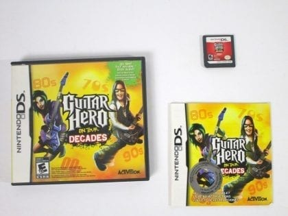 Guitar Hero On Tour Decades game for Nintendo DS -Complete