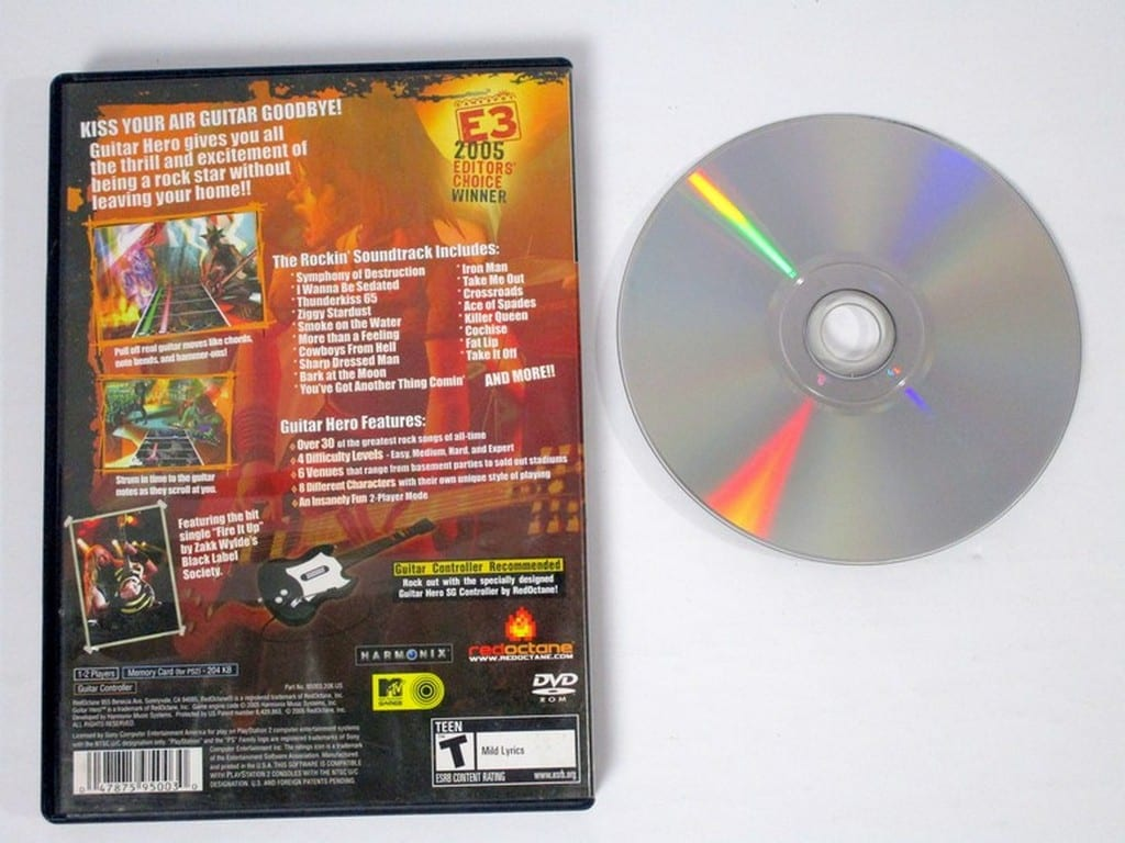 Guitar Hero game for Playstation 2 | The Game Guy