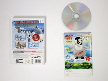 Happy Feet Two game for Wii (Complete) | The Game Guy