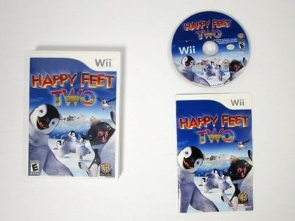 Happy Feet Two game for Nintendo Wii -Complete