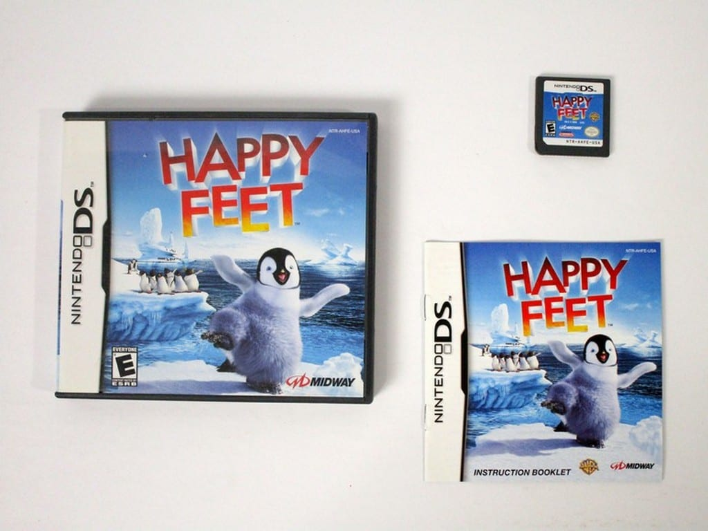 Happy Feet game for Nintendo DS -Complete