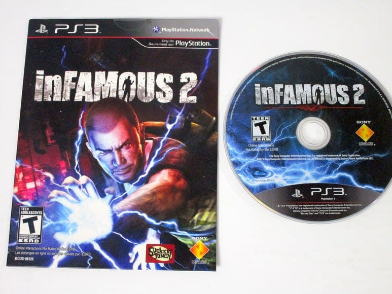 Infamous 2 game for Playstation 3 | The Game Guy