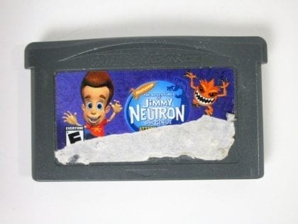 Jimmy Neutron Attack of the Twonkies game for Nintendo Gameboy Advance - Loose