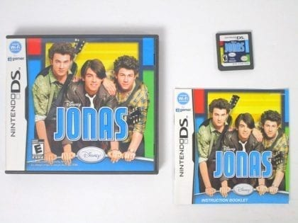 Jonas game for Nintendo DS -Complete