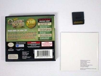 Junior Classic Books & Fairytales game for Nintendo DS (Complete) | The Game Guy