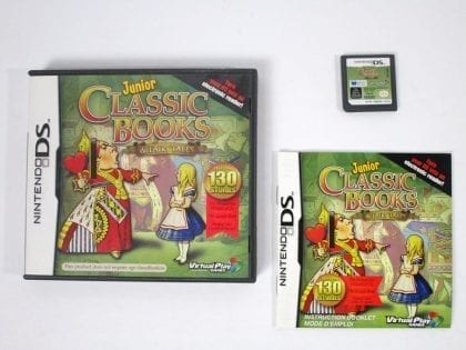 Junior Classic Books & Fairytales game for Nintendo DS -Complete