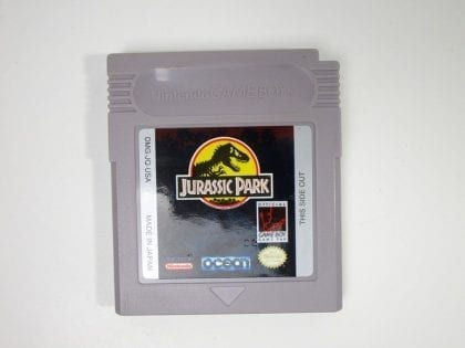 Jurassic Park game for Nintendo GameBoy - Loose
