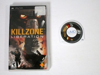 Killzone Liberation game for Sony PSP -Game & Case