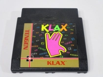 Klax game for Nintendo NES - Loose