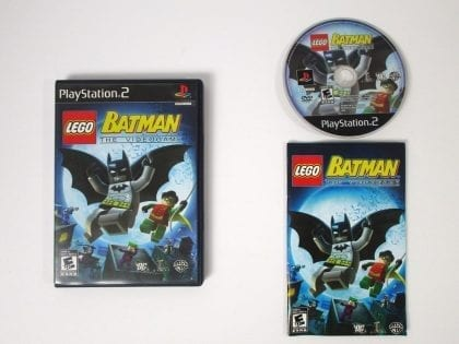 LEGO Batman The Videogame game for Sony Playstation 2 PS2 -Complete